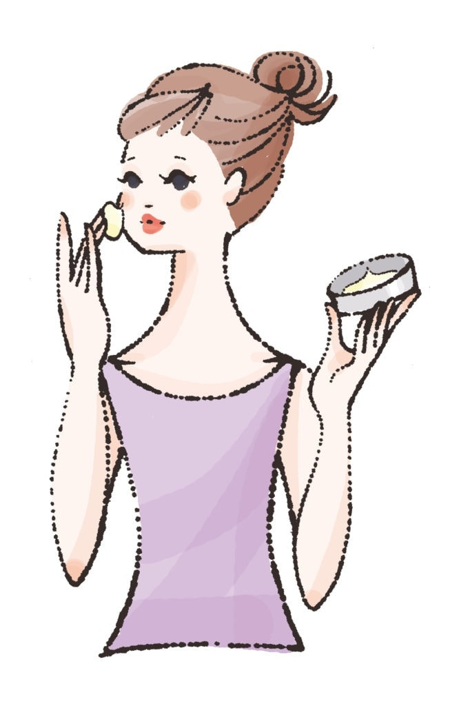 How to use STEAMCREAM Cleansing Balm step 1